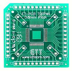 44 TQFP SMD to DIP Adapter
