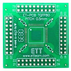 80 pin TQFP Adapter