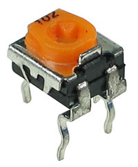 TRIMSH500K - 500k 1/2W Sealed Miniature Horizontal Potentiometer (Trimpot)