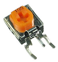 TRIMSV20K - 20k 1/2W Sealed Miniature Vertical Potentiometer (Trimpot)