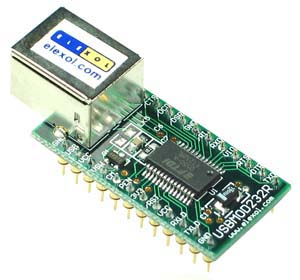 USBMOD232 - USB RS232 Transfer Module
