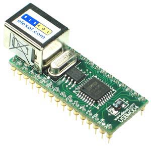 USBMOD4 - USB Parallel Transfer Module