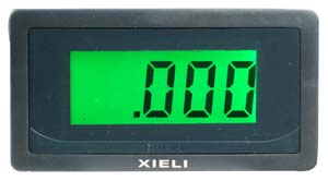 VOLTM4DB40VDC - 4 Digit Green 0-40VDC LED Volt Meter
