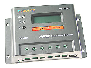 20A Deluxe Solar Charge Controller