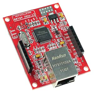 Click for Larger Image - W5100 Ethernet Network Mini Board