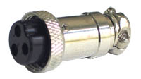 3 Pin Line Female Mic Connector