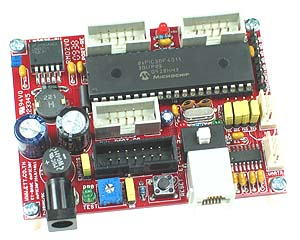 Click for Larger Image - dsPIC30F4011 Controller