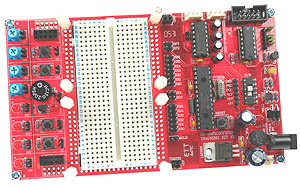 Click for Larger Image - dsPIC30F2010 Development Board