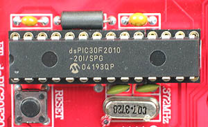 Click for Larger Image - Microchip dsPIC30F2010 Microcontroller
