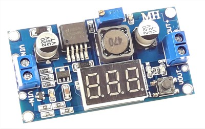 DC-DC Step-Down Module With Display