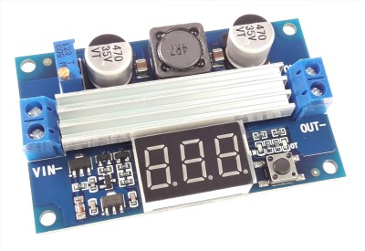 DC-DC Step-Up Module With Display